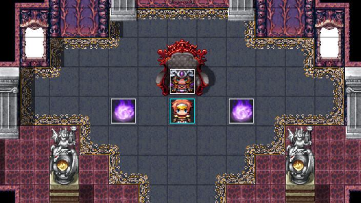 魔王の城、魔王と勇者のイメージ画像