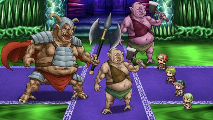 RPGツクールMZ戦闘画面、サムネイル