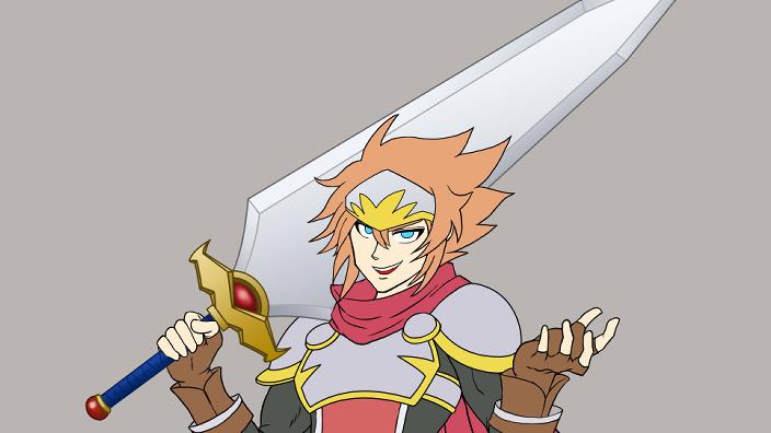 最強の剣を持つハロルドサムネイル用