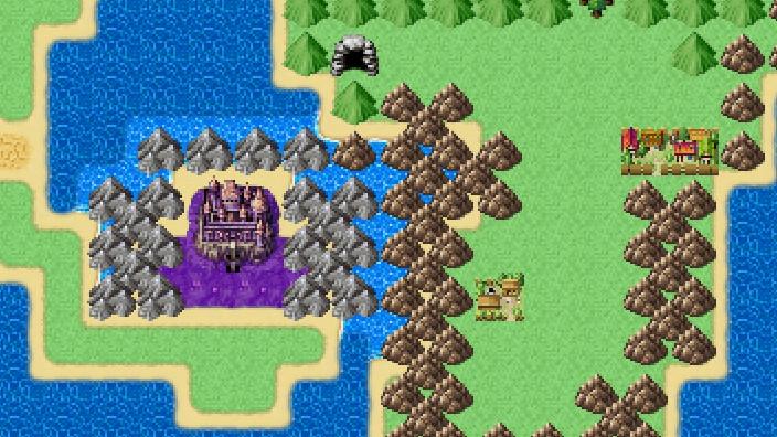 RPGツクールMZで作ったマップ、サムネイル